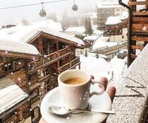 breakfast, christmas, and coffee image