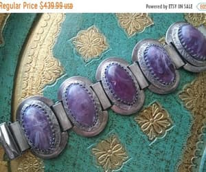 etsy, purple stone jewelry, and designer jewelry image