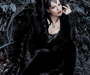 evil queen, lana parrilla, and regina mills image