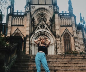 aesthetic, blonde, and brazil image