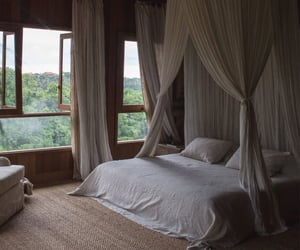 bali, bedroom, and decoration image