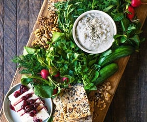 cheese, nuts, and food image