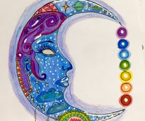 aesthetic, chakra, and crystals image