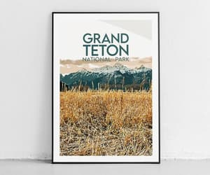 etsy, wanderlust gifts, and adventure prints image
