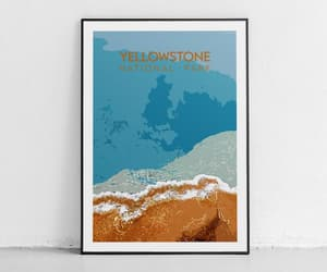 etsy, yellowstone wyoming, and usa national parks image