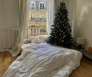 christmas, christmas tree, and room image