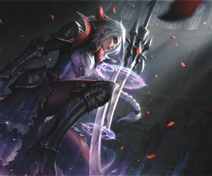 diana, lol, and league of legends. image