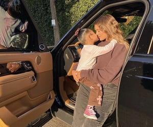 kylie jenner, stormi, and family image