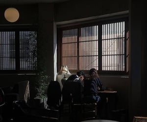 aesthetic, boy, and cafe image