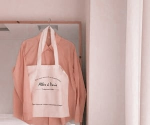 peach, aesthetic, and clothes image