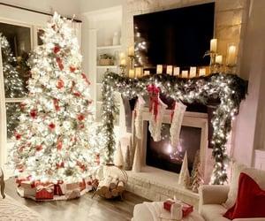 christmas, christmas tree, and decor image