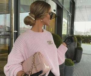 pink, fashion, and chanel image