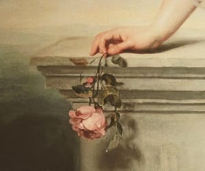 aesthetic, angel, and flower image