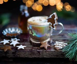 Christmas time, christmas spirit, and christmas coffee image