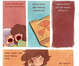 saudade and tirinha image