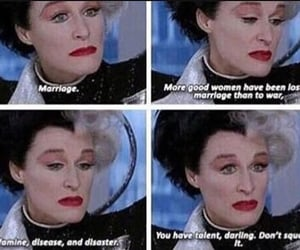 quotes, strong, and cruella image