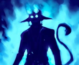 anime, netflix, and ao no exorcist image