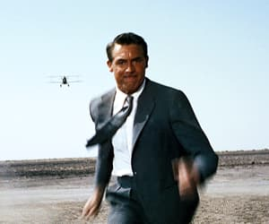 north by northwest, blockbuster, and cary grant image
