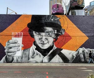 street art, the clockwork orange, and laranja mecanica image