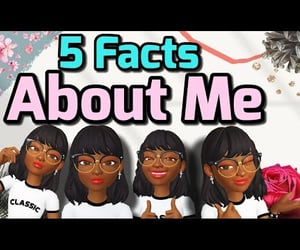 about, video, and random facts about me image