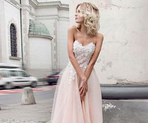 wedding, bridesmaiddresses, and flowergirldresses image