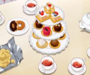 anime, tea, and anime food image