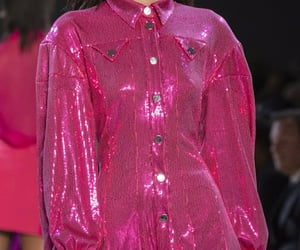 bright pink, fashion show, and haute couture image