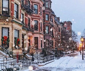 beauty, brownstone, and city image