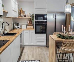apartment, interior design, and kitchen image