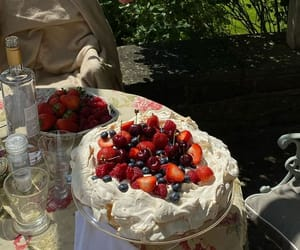 berries, decadent, and sweets image