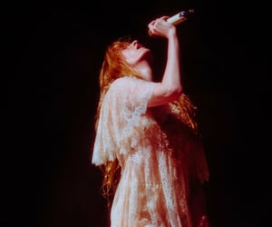 florence welch, beauty, and florence and the machine image