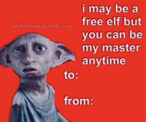 elf, harry potter, and valentines day image