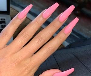 aesthetic, fake nails, and nails image