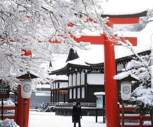 east, snow, and travel image