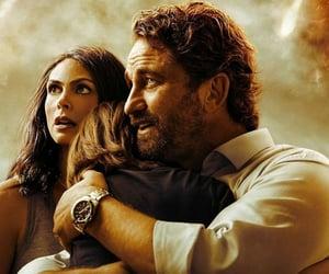 gerard butler, movie, and morena baccarin image