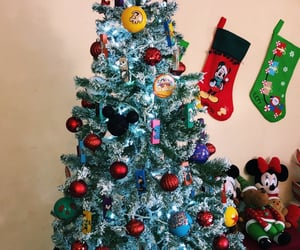 baubles, christmas, and mickey image
