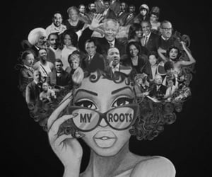 aesthetic, afros, and black is beautiful image