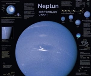astronomy, neptune, and space image