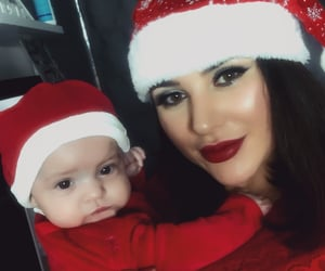 baby, red, and redlips image