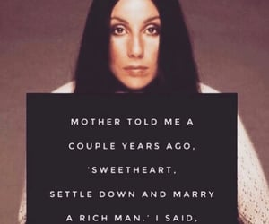quotes, cher, and woman image