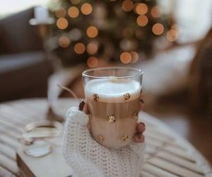 christmas, coffee, and aesthetic image