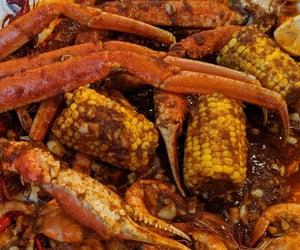 boil, crawfish, and corn image