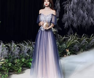tulle, formal dresses, and girl image