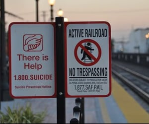 help, sign, and suicide image