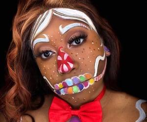 face paint, makeup artist, and costume makeup image