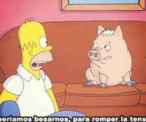 Homero, lossimpson, and puercoaraña image