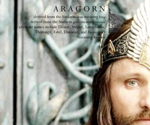 fantasy, the lord of the rings, and viggo mortensen image