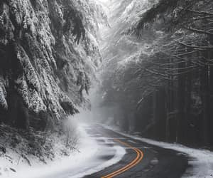 nature and snow image