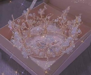 princess, aesthetic, and crown image