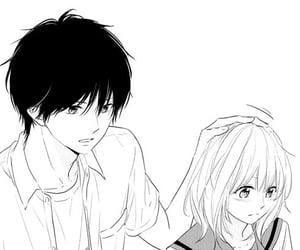 manga, manga girl, and manga love image